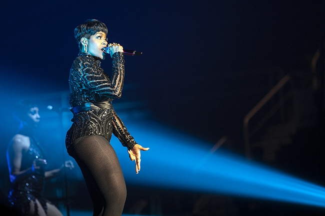 Fantasia at Bojangles' Coliseum. (Photo by Jeff Hahne)