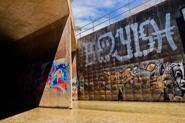 Charlotte street art, graffiti