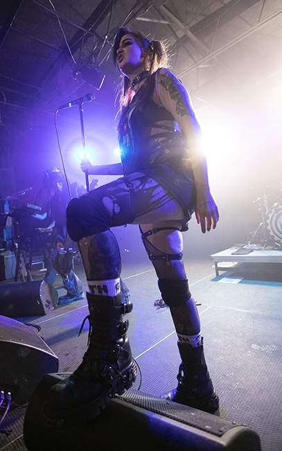 Lords of Acid (Photo by Jeff Hahne)