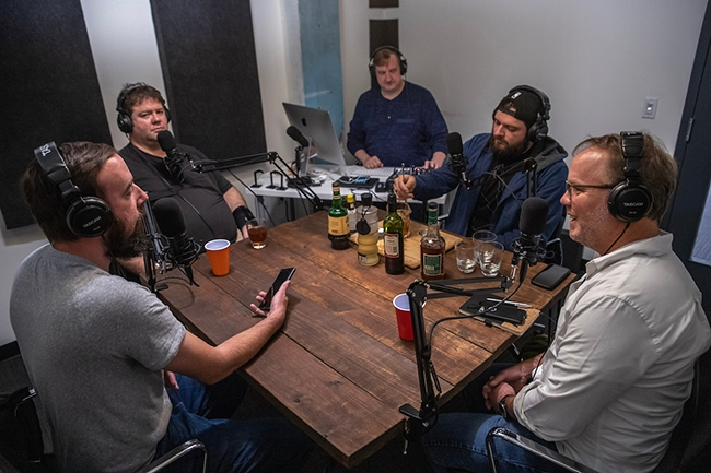 Queen City Nerve's Booze Hounds Podcast.