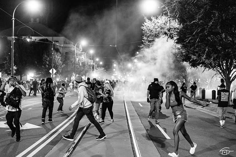 use of tear gas, protest response policy