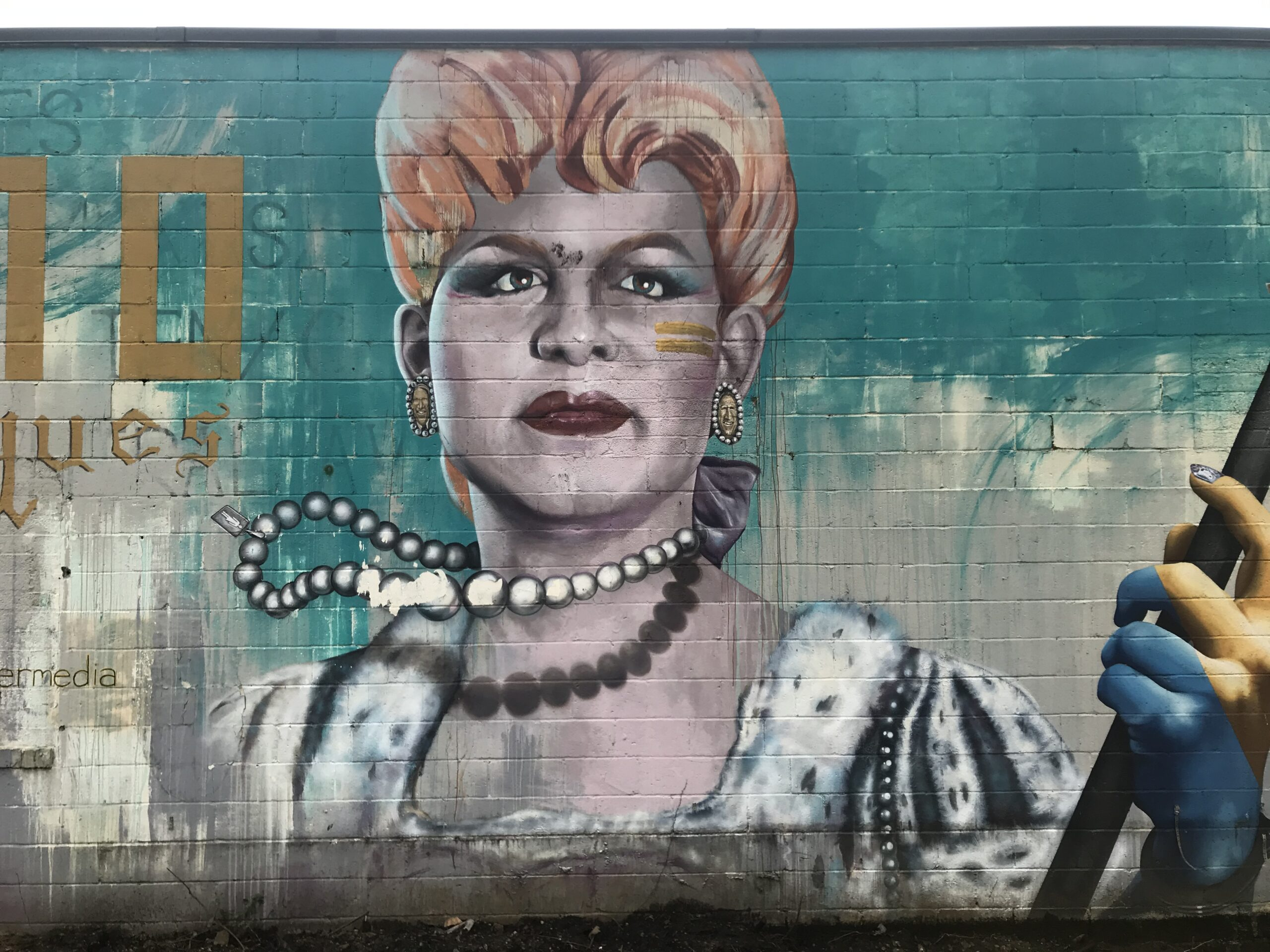 Plaza Midwood mural